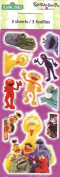 Sesame Street Characters Photo Scrapbook Stickers
