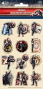 Captain America Standard Stickers