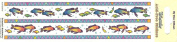 Fish Border Scrapbook Stickers