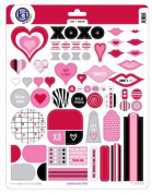 Kiss Me Love Stickers & Accents