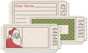 Printed Tickets 3 Styles/6 Each-Christmas