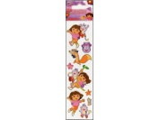 Nickelodeon Dora the Explorer Mix Dimensional Slim Stickers