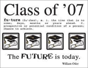 Class of 2007 Scrapbook Stickers