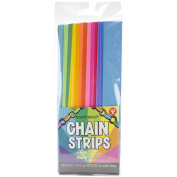 Mighty Bright Paper Chain Strips 2.5cm x 20cm 180/Pkg-Assorted Colours
