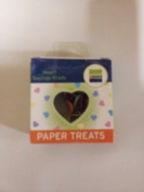 Around The Block Paper Treats Painted Metal Brads (36 Per Package) - Conversation Hearts