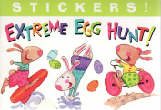 Extreme Egg Hunt Mini Sticker Book