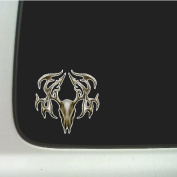 Tribal Buck Skull Decal Sticker Car, Truck, Laptop Decal Sticker