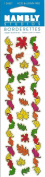 Autumn Leaves Shiny Scrapbook Stickers