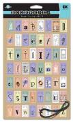 EK Success Rebecca Sower Bookworks ABC Paper Strings-Pastel