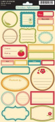 Farm Fresh Cardstock Stickers 14cm by 30cm Sheet, Label