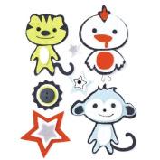 BasicGrey Oliver Felt Stickers, Woollies