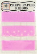 Jenni Bowlin Crepe Paper Ribbon Colour Pink