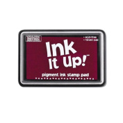 Ink It Up!TM CRANBERRY Pigment Ink Pad - HOT PINK, PLUM, CRANBERRY Pigment Stamp Pad - Ink It Up!TM Pigment Ink Stamp Pads