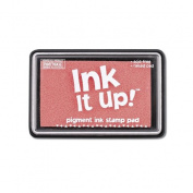 Ink It Up!TM PINK Pigment Ink Pad - LIGHT PINK, BABY PINK Pigment Stamp Pad - Ink It Up!TM Pigment Ink Stamp Pads