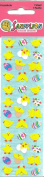 Micro Chicks and Eggs Scrapbook Stickers