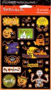 Halloween Phrases Scrapbook Stickers
