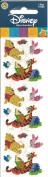 Disney Winnie the Pooh Tigger Piglet Sparkle Scrapbook Stickers