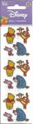Disney Winnie the Pooh Tigger Eeyore Piglet Sparkle Scrapbook Stickers