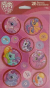 My Little Pony Scrapbook Stickers