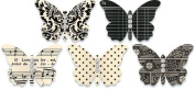 Jenni Bowlin Studio Adhesive Cardstock Embellished Butterflies