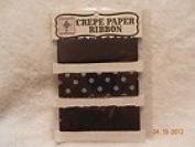 Jenni Bowlin Crepe Paper Ribbon Colour Black