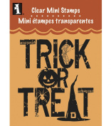 Inkadinkado Clear Mini Stamps, Trick Or Treat