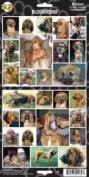 Pet Qwerks S7 Bloodhound Dog Sticker