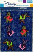 Winnie the Pooh Tigger Piglet Sparkle Scrapbook Stickers. 568K)