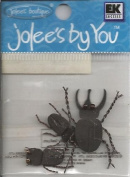 Beetle Bugs Dimensional Embellishments for Scrapbooking