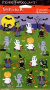 Halloween Costume Kids Scrapbook Stickers