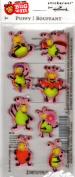 Bug 'Em Cute Bugs Puffy Scrapbook Stickers