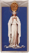 Rosarybeads4u Prayer Verse Card 120mm X 65mm Plastic Wallet & Medal Our Lady Of Knock
