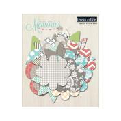 Memories Paper Flower Layers 36/Pkg-