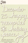 Jillibean Soup Wise Words White Holidays Stickers