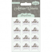 Artisan Photo Corners 12/Pkg-