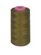 Field Drab Thread Serger (overlock) 6,000 yards, 100% Spun Polyester
