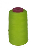 Neon Yellow Thread Serger (overlock) 6,000 yards, 100% Spun Polyester