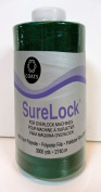 Coats Surelock Thread,#0784 Spruce,3000 Yds.100% Spun Polyester,for Overlock Machines