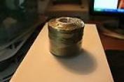 #18 Conso Heavy Duty Beading Cord (Thread) Colour 745 Beaver Green