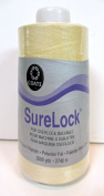 Coats Surelock Thread,#0030 Bone,3000 Yds.100% Spun Polyester,for Overlock Machines