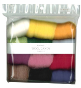 Hamanaka wool Candy 12 colour set (Basic Selection) # 1