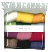 Hamanaka wool Candy 12 colour set (Basic Selection) # 1