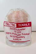 Tristar Peach Embroidery Thread, Polyester Trilobal, 4000 Yards