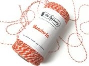 Mandarin Orange Baker's Twine, 240 Yard Spool
