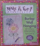 Make it Fun Activities Burlap Wall Hanging 2 fun Patterns