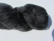 Juniper Moon Herriot Heathers Baby Alpaca Colour 1001 Black River Stone 100g Skein