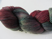 Ella Rae Lace Merino Hand Dyed Yarn Colour 147 Olive, Wine, Black