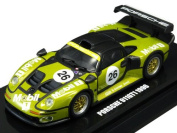 Original Kyosho 1/64 Porsche 911gt1 1996 Preliminary No.26