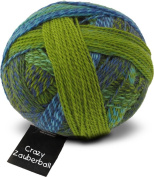 Zauberball Crazy Colour 2136. Blue, Green