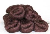 Fyberspates Scrumptious Silk/Merino Wool Aran Yarn #413 Deep Chestnut